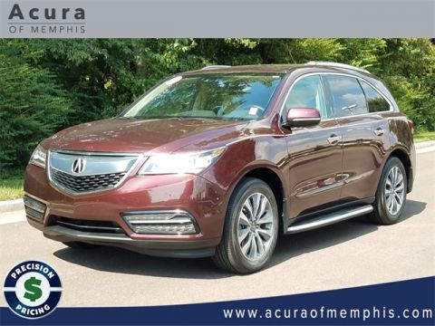 Certified Pre-Owned 2016 Acura MDX with Technology Package