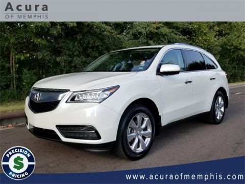Certified Pre-Owned 2016 Acura MDX with Advance Package